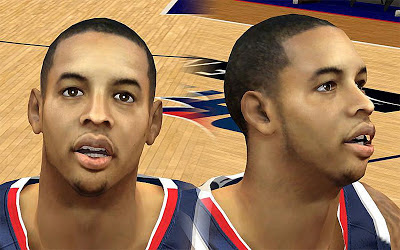 NBA 2K13 Devin Harris Cyberface Patch