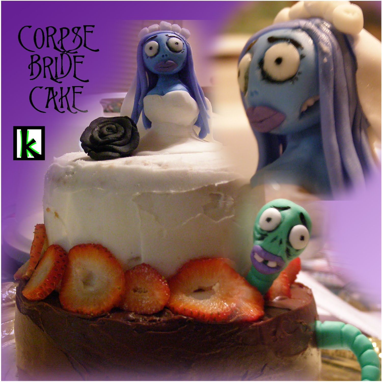 corpse bride birthday cake