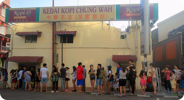 Antrian Kedai Chung Wah Malaka