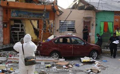 Explota panadería en Tabasco, saldo un niño muerto