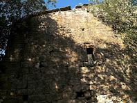 La paret de llevant del mas Sabruneta
