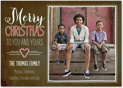 Sweetful Christmas Card