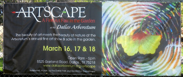 Artscape at the Dallas Arboretum March 2012