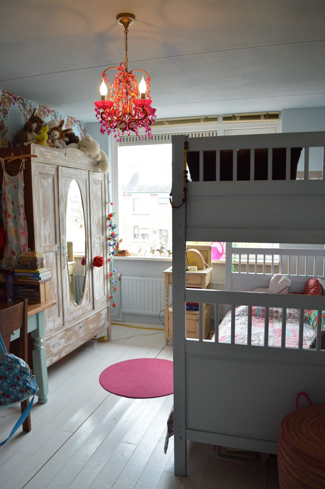 www.redcherryrodekers.blogspot.nl: Girls room #oldroom 2