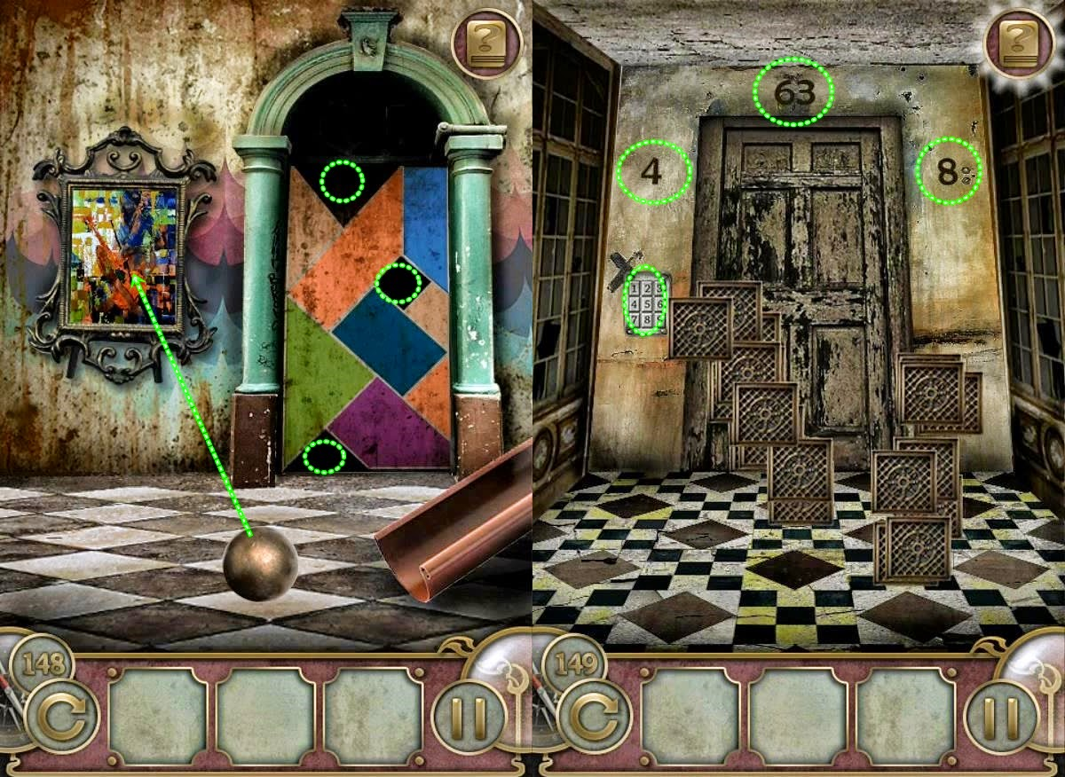 Escape the Mansion 2 game for iPhone 2018