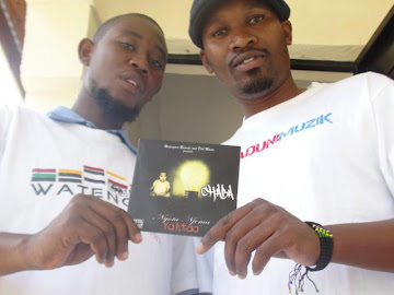 "GET A COPY OF A-CITY MC/RAPPER CHABA'S NEW ""NYOTA NJEMA YA MTAA'MIXTAPE @ ONLY 5000/= TSHS."