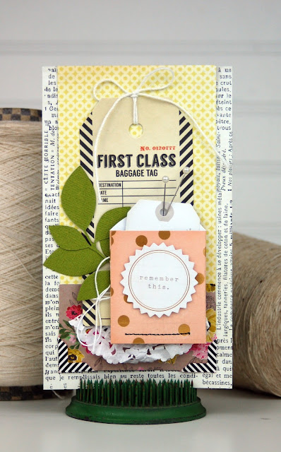 Card inspired by a round robin. Click here to learn more: http://www.scrapbookandcardstodaymag.typepad.com/