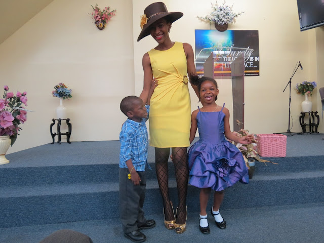 Little Yellow Dress, Church Hat