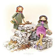 "18 cm (7"") dolls"