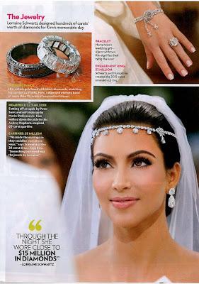 13 Fotos oficiais do casamento de Kim Kardashian...!