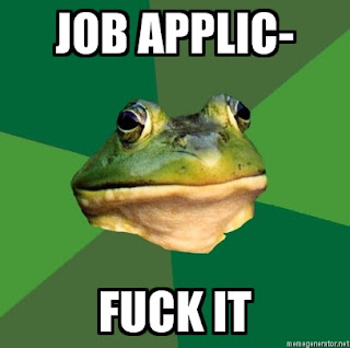 foul bachelor frog job application