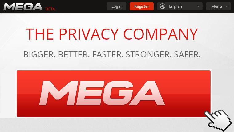 Kim Dotcom Mega Beta