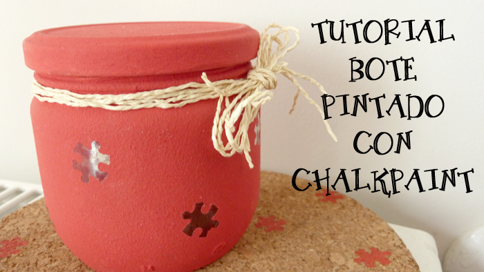 Bote pintado chalk paint