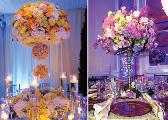Stunning wedding centerpieces part belle the magazine