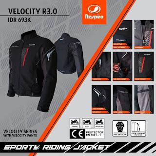 velocity r3.0 Spesifikasi produk