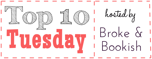 Top Ten Tuesday Perks of Being a Reader