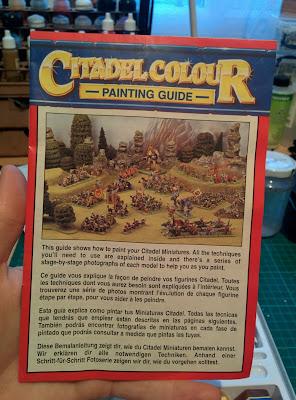 Citadel Colour Paint Set 1994 - Painting Guide