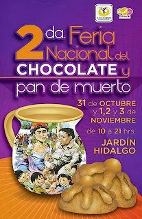 feria chocolate y pan de muerto Coyoacán 2013