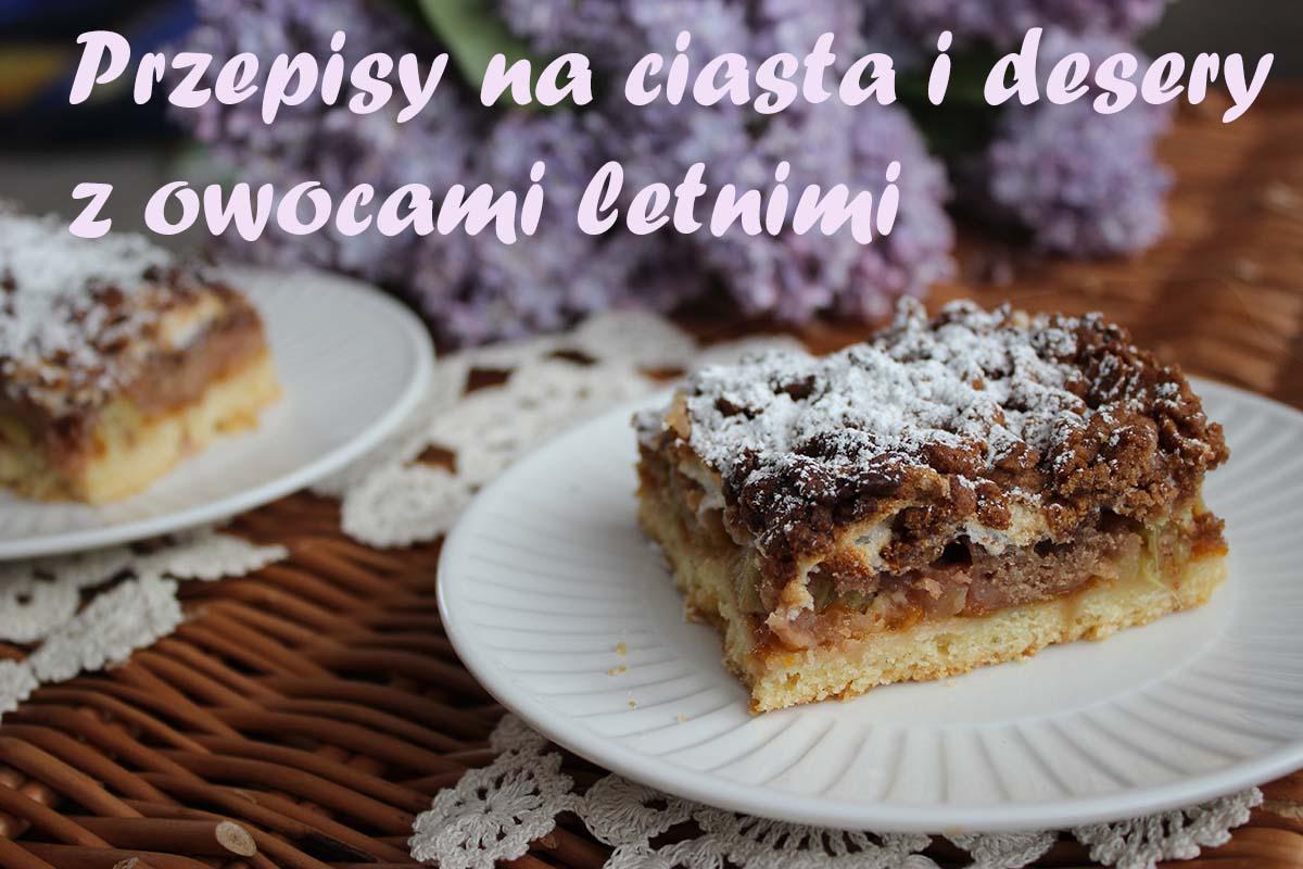 Ciasta i desery z owocami