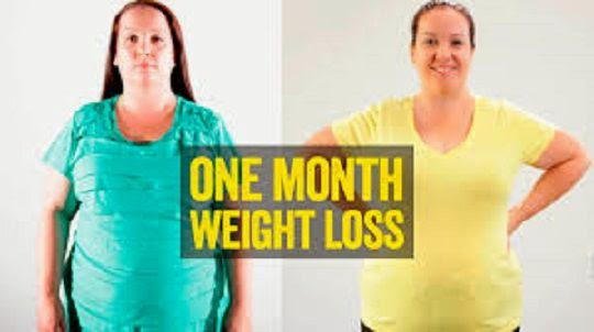 how to lose weight faster in one month image