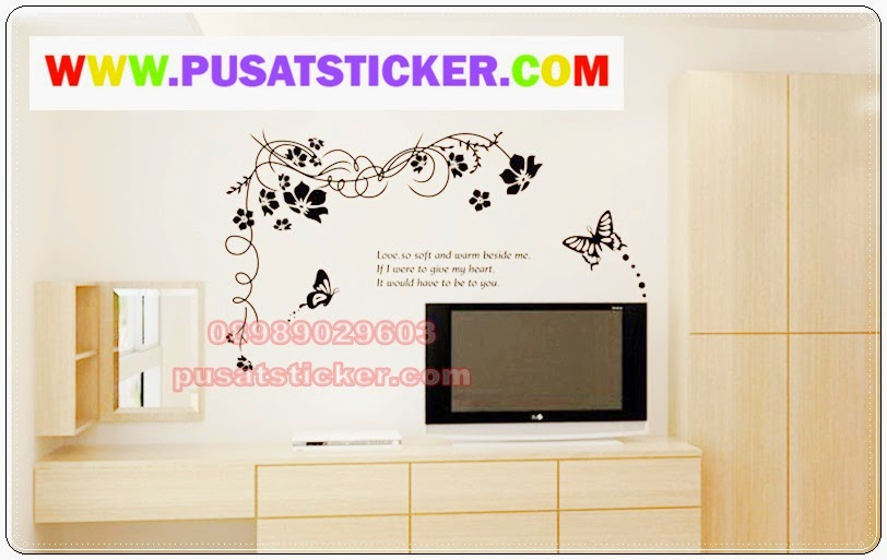 wall sticker tribal black - olivacollection