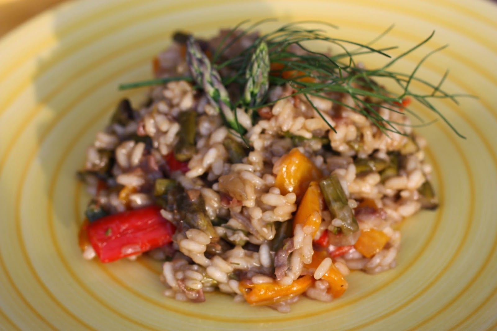 Chow and Chatter: Roast Fennel and Vegetable Risotto