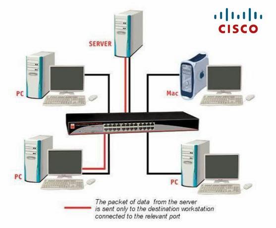 konfigurasi Cisco Switch