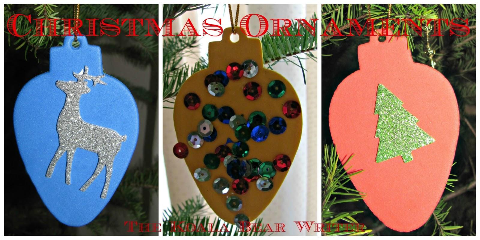 Christmas Ornament Craft Ideas Preschoolers : Christmas crafts for toddlers and preschoolers the koala mom