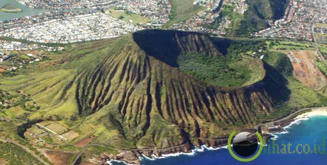 Kawah Koko Crater, Hawaii, USA