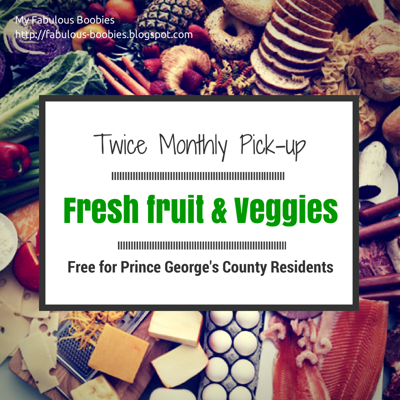My Fabulous Boobies| Free produce in PG county twice monthly