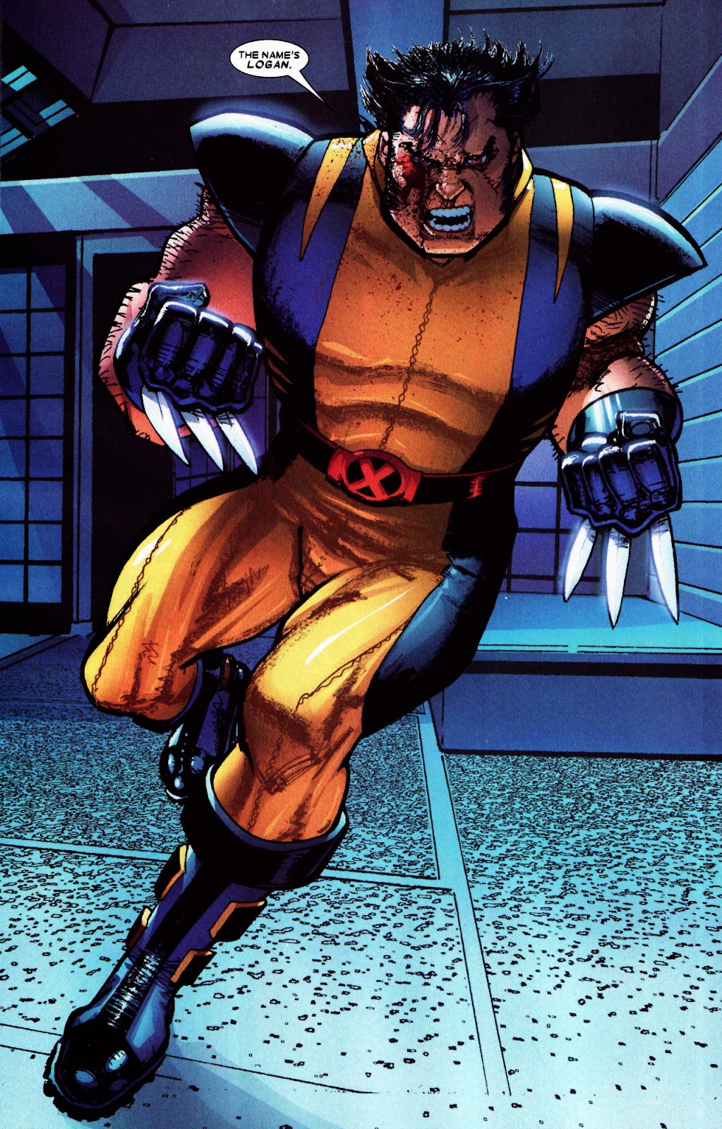 Read online Wolverine (2003) comic -  Issue #61 - 16