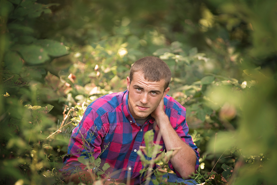 DeKalb Sycamore IL Senior Photographer | Boys Senior portrait