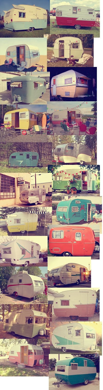 Viva Vintage Travel Trailers!