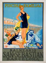 Vintage Poster Spanish San Sebastian