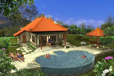 Desain Rumah Villa Minimalis Mewah Modern ~ Gambar Rumah Idaman