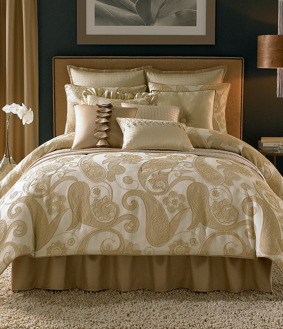 Modern furniture 2013 candice olson bedding collection - Bedroom sheets and comforter sets ...