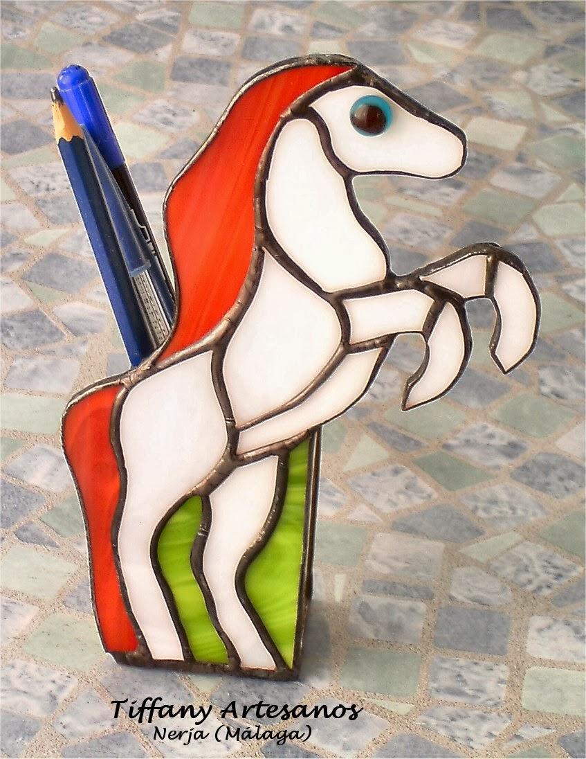 Caballo guarda lápices