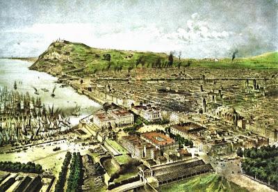 Barcelona, 1850 (Alfred Guesdon)