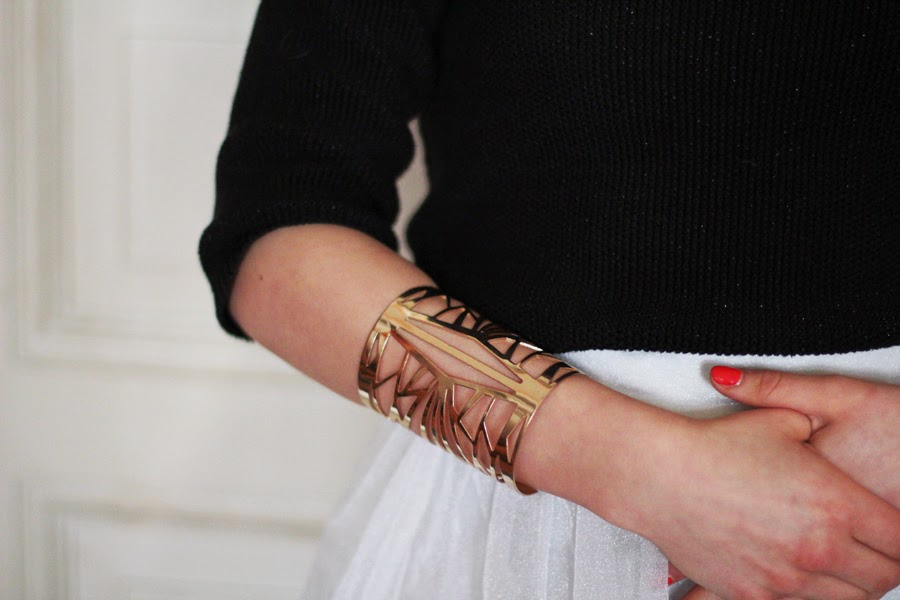 armband details outfit modeblogger berlin