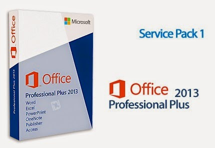 Microsoft Office Professional PLUS  2013 SP1 (x86/x64) Integrated August 2014