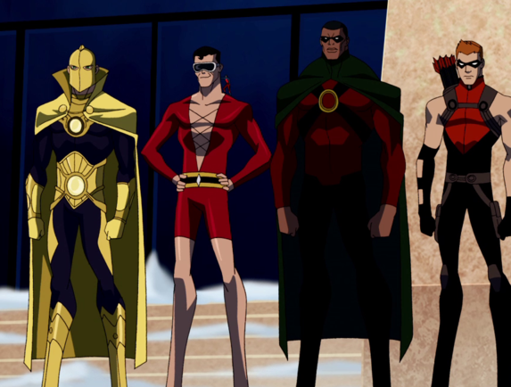 YOUNG JUSTICE ANIMATED SERIES - ICONYoung Justice Icon