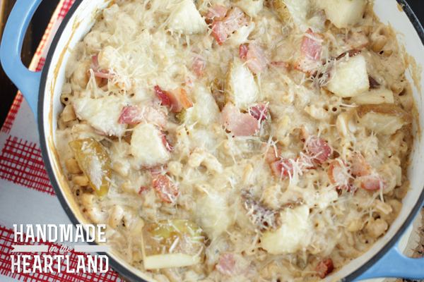 Bacon & Pear Macaroni & Cheese