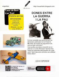 ACTIVITATS DE CAU ARTÌSTIC PER EL PERIODE D'ABRIL A JUNY DE 2015