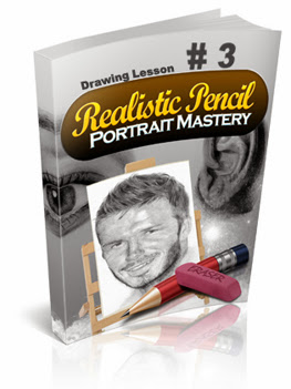 How To Draw A Realistic Mouth And Teeth Like A Master : realistic pencil portrait mastery home study course