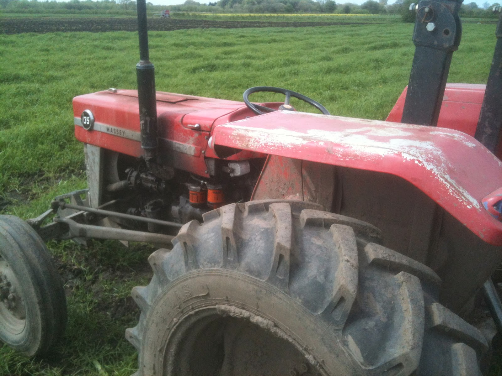 How to drive a tractor