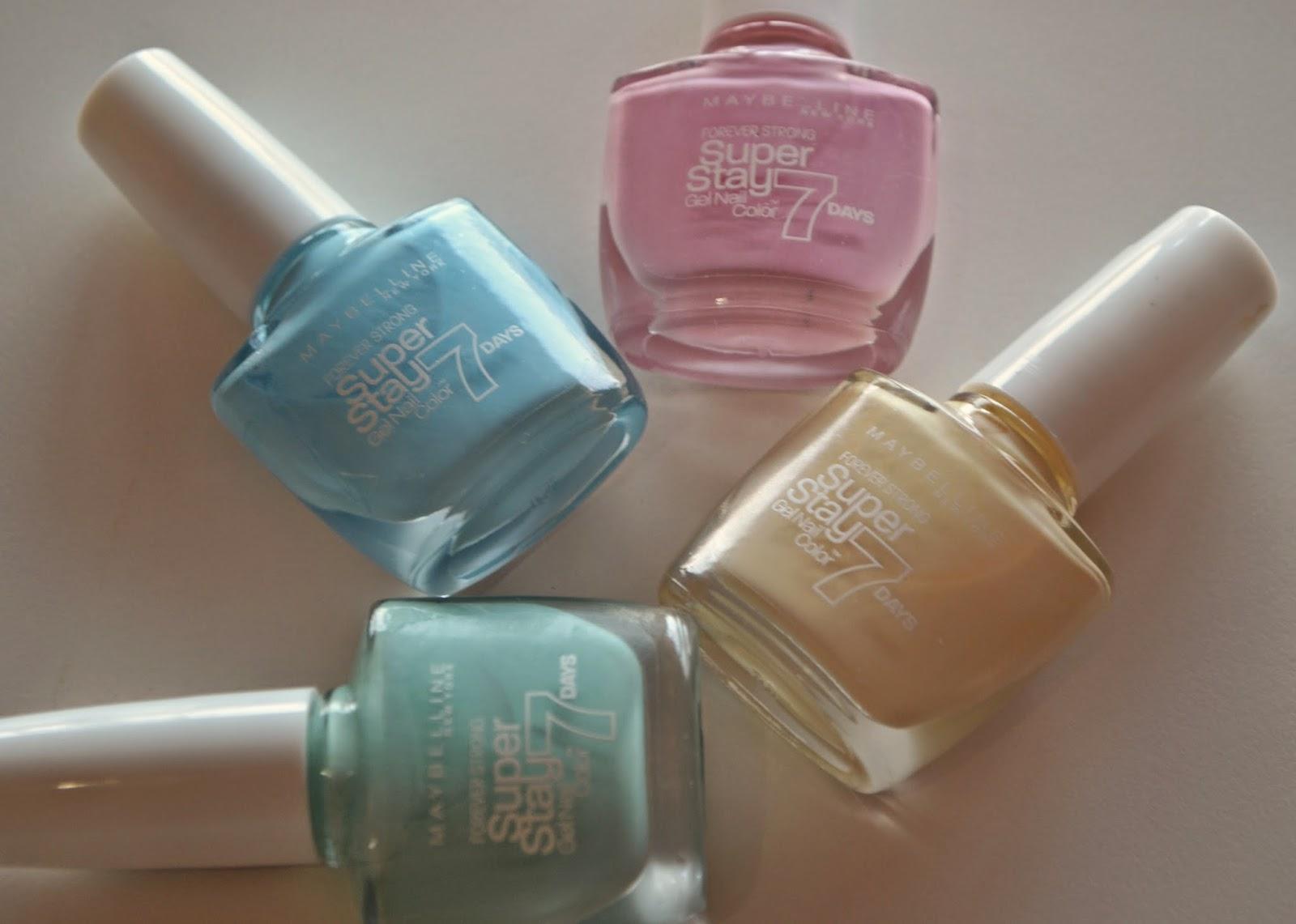 Nueva colección SuperStay 7 days Pastel de Maybelline !!! / BLOG DA ...