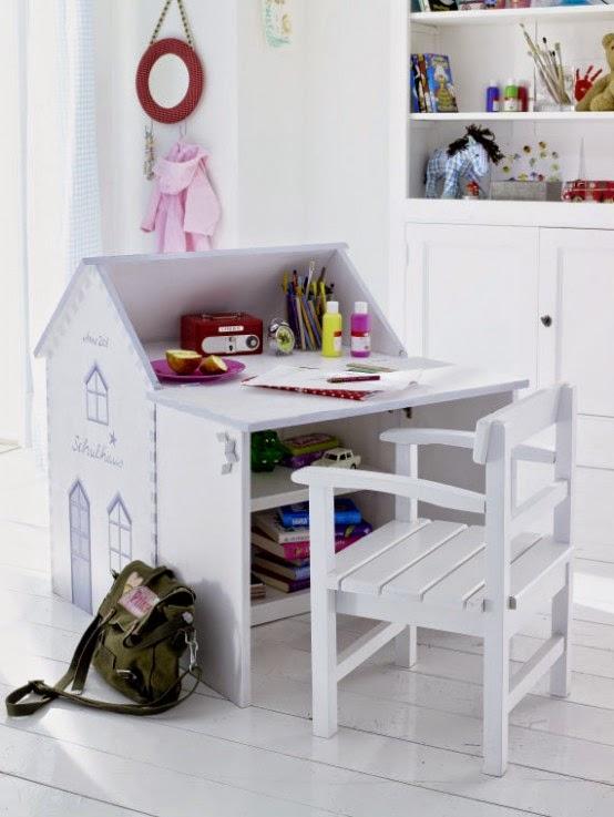 Письменный детский стол своими руками