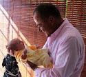 Con mi nieta Sara