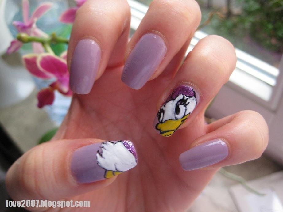 Mein Nail Art Für Daisy