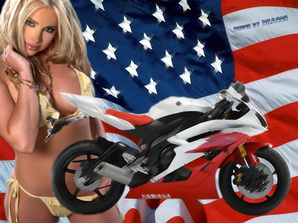 Motorcycle Wallpaper, beautiful girl with motercycle, motorbike ...